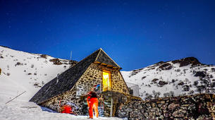 Snowshoeing-Le Lioran-Snowshoeing around Le Lioran (Cantal)-6