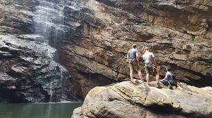 Abseiling-George-Abseiling down the Swart River Waterfall-5