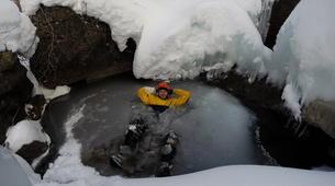 Canyoning-Hautes-Pyrénées-Canyon Hivernal / Ice Canyoning de l'Ossoue (Aval) dans les Hautes Pyrénées-7