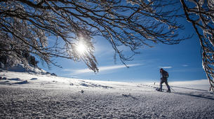 Snowshoeing-Le Lioran-Snowshoeing around Le Lioran (Cantal)-1