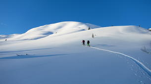 Ski touring-Stranda-Guided ski touring in Sunnmøre Alps-4