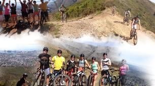 Mountain bike-Cape Town-Double mountain biking descent on Table Mountain-4
