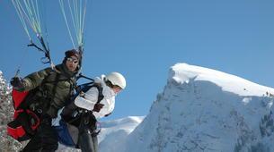 Paragliding-Morzine, Portes du Soleil-Tandem paragliding flight in Morzine - Avoriaz-6
