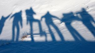 Snowshoeing-Le Lioran-Snowshoeing around Le Lioran (Cantal)-5
