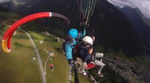 Paragliding-Morzine, Portes du Soleil-Paragliding initiation course in Morzine Avoriaz-3