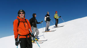 Ski touring-Ariege-Ski touring initiation in Ax-les-Thermes, Ariege-2