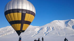 Montgolfière-Longyearbyen-Hot air balloon flight from Longyearbyen over Svalbard-1