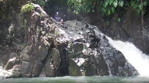 Canyoning-Pointe-Noire-Randonnée Aquatique dans la Rivière de Grande Plaine, Guadeloupe-1