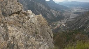 Via Ferrata-Sisteron-Via ferrata of la Grande Fistoire in Sisteron-4