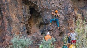 Rock climbing-Maspalomas, Gran Canaria-Rock climbing for beginners in Fataga or Sorrueda, Maspalomas-1