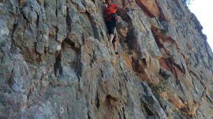 Rock climbing-Langeberg-Rock climbing lessons in Montagu, Langeberg-12