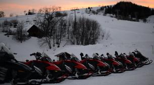 Snowmobiling-Le Corbier, Les Sybelles-Snowmobile excursion in Le Corbier, Les Sybelles-5