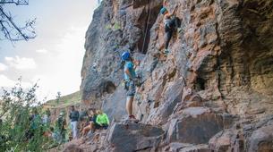 Rock climbing-Maspalomas, Gran Canaria-Rock climbing for beginners in Fataga or Sorrueda, Maspalomas-6