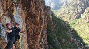 Rock climbing-Langeberg-Rock climbing lessons in Montagu, Langeberg-11
