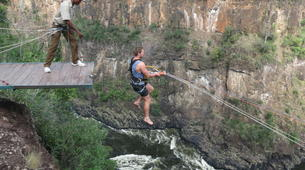 Bungee Jumping-Victoria Falls-Hire wire combo in Victoria Falls-3