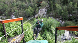 Zip-Lining-Plettenberg Bay-Waterfall zipline tour over the Kruis River-3