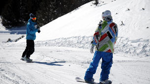 Snowboard Freestyle-Les Angles-Demi-journée Cours Privé de Snowboard Freestyle aux Angles-5