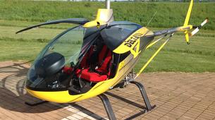 Helicoptère-Annecy-Baptême Hélicoptère au-dessus du Lac d'Annecy-1
