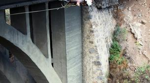 Bungee Jumping-Las Palmas de Gran Canaria-Rope swinging from 26 metres at La Calzada Bridge near Las Palmas-4