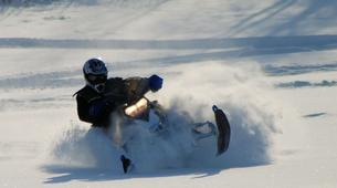 Snowmobile-Hardangervidda National Park-Snowmobile circuits in Dagali, Geilo-2
