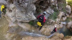 Canyoning-Cantabria-Canyoning at Yera Gorge in Vega de Pas, Cantabria-6