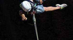 Bungee Jumping-Las Palmas de Gran Canaria-Rope swinging from 26 metres at La Calzada Bridge near Las Palmas-3