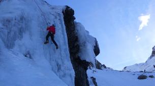 Ice Climbing-Bielsa-Icefall climbing in Bielsa, Aragonese Pyrenees-6