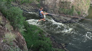 Bungee Jumping-Victoria Falls-Hire wire combo in Victoria Falls-4