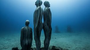 Scuba Diving-Puerto del Carmen, Lanzarote-First dive in the Underwater Museum of Lanzarote-2