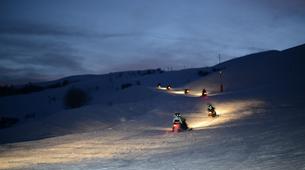 Snowmobiling-Le Corbier, Les Sybelles-Snowmobile excursion in Le Corbier, Les Sybelles-3