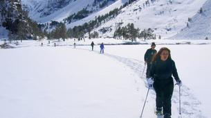 Snowshoeing-Cauterets-Snowshoeing hike near the Gaube Lake-1
