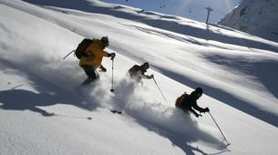 Backcountry Skiing-Val d'Isère, Espace Killy-Backcountry skiing in Val d'isère, Espace Killy-2