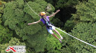 Bungee Jumping-Monteverde-Tarzan jump from 143 metres in Monteverde-1