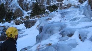 Ice Climbing-Bielsa-Icefall climbing in Bielsa, Aragonese Pyrenees-1