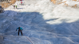 Ice Climbing-Bessans, Haute Maurienne-Ice climbing in Bessans-5
