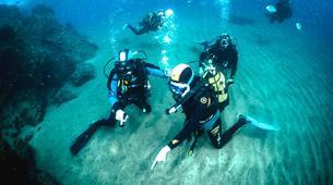 Scuba Diving-Puerto del Carmen, Lanzarote-First scuba dive in Playa Chica, Puerto del Carmen-1