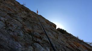 Rock climbing-Langeberg-Rock climbing lessons in Montagu, Langeberg-7