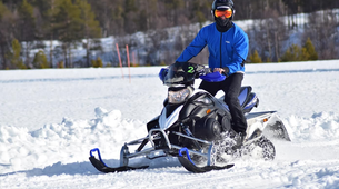 Snowmobile-Hardangervidda National Park-Snowmobile circuits in Dagali, Geilo-5