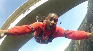 Bungee Jumping-Plettenberg Bay-Africa's highest bridge bungee, 216m from Bloukrans Bridge-1