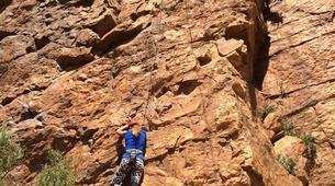 Rock climbing-Langeberg-Rock climbing lessons in Montagu, Langeberg-14