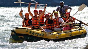 Rafting-Livingstone-White water rafting excursions on the Zambezi River-1