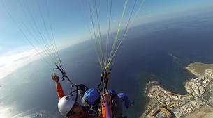 Parapente-Costa Adeje, Tenerife-Tandem paragliding flight over Ifonche, near Vilaflor-6