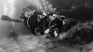 Scuba Diving-Puerto del Carmen, Lanzarote-First scuba dive in Playa Chica, Puerto del Carmen-2