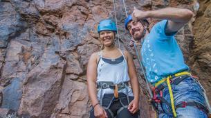 Rock climbing-Maspalomas, Gran Canaria-Rock climbing for beginners in Fataga or Sorrueda, Maspalomas-5