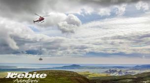 Mountain bike-Reykjavik-Heli-biking down Hengill Volcano, Reykjavik-2