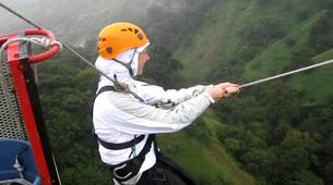 Bungee Jumping-Monteverde-Tarzan jump from 143 metres in Monteverde-5