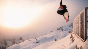 Snowboard Freestyle-Les Angles-Demi-journée Cours Privé de Snowboard Freestyle aux Angles-3