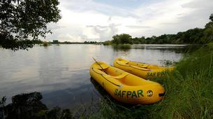 Kayaking-Livingstone-Canoe safari on the Upper Zambezi River near Livingstone-6