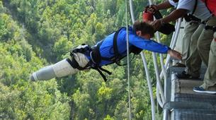 Bungee Jumping-Plettenberg Bay-Africa's highest bridge bungee, 216m from Bloukrans Bridge-8