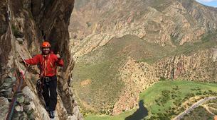 Rock climbing-Langeberg-Rock climbing lessons in Montagu, Langeberg-4